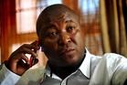 Thamsanqa Jantjie. Photo / AP
