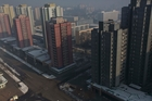 The capital Pyongyang has been brightened up on the orders of Kim, but is still a drab place. Photo / AP