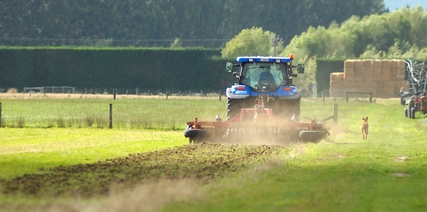 Confidence in the agriculture sector surged to its highest reading since July 1994. Photo / APN