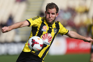 Jeremy Brockie will be focused on helping the Phoenix end a  nine-game winless streak in their clash with Central Coast Mariners  tonight.  Picture / Getty Images