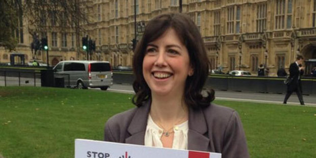 Lucy Powell received an apology from The Sun newspaper after it labelled her Britain's 'laziest' MP - while she was on maternity leave. Photo / @LucyMPowell