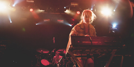 Synth-pop band, Metric, playing the Powerstation in Auckland. Photo / Michelle Deacon (Outstretched Photography)