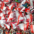 Bayern Munich fans cheer players during the semifinal soccer match between Guangzhou Evergrande and Bayern Munich at the Club World Cup soccer tournament in Agadir, Morocco. Photo / AP