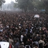 Pakistani Shiite Muslims protest to condemn the killing of Shiite leader Nasir Abbas in Lahore, Pakistan. Photo / AP