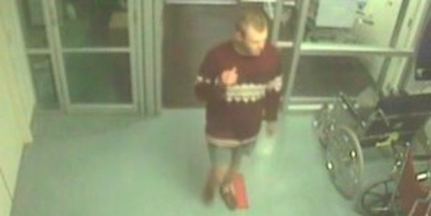 Police search for the unknown Good Samaritan.
