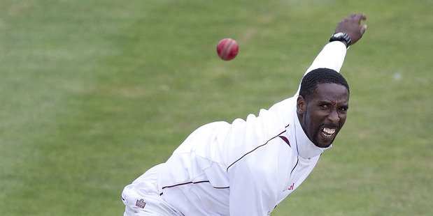 Shane Shillingford of the West Indies. Photo / Getty Images