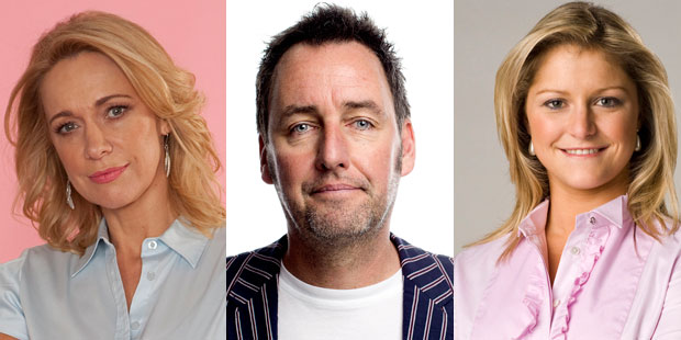 Alison Mau (left) is leaving Seven Sharp, while Mike Hosking and Toni Street are stepping in.