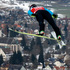 Finland's Janne Ahonen jumps in the qualifying round during the ski jumping World Cup in Titisee-Neustadt. Photo / AP