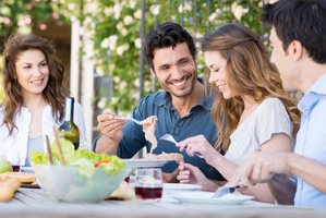 Sharing meals together is part of the fabric of life. Photo / Thinkstock