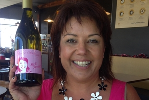 Paula Bennett still hasn't decided who will get her Sip It Sweetie chardonnay. Photo / Audrey Young