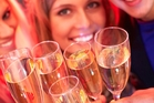 Champagne is a celebration drink, experts say ... and too many buyers can't afford to celebrate. Photo / Getty Images