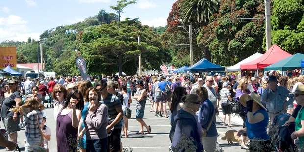The Christmas riverside market showed off Wanganui's strengths. Photo/File