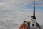The Akademik Shokalskiy is trapped in pack ice 3,000km southwest of Bluff.