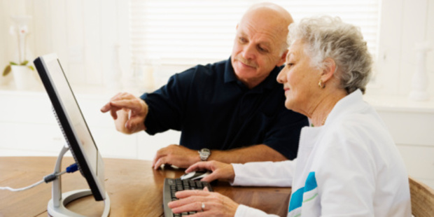 Age Concern has set up a new technology service. Photo/Thinkstock.