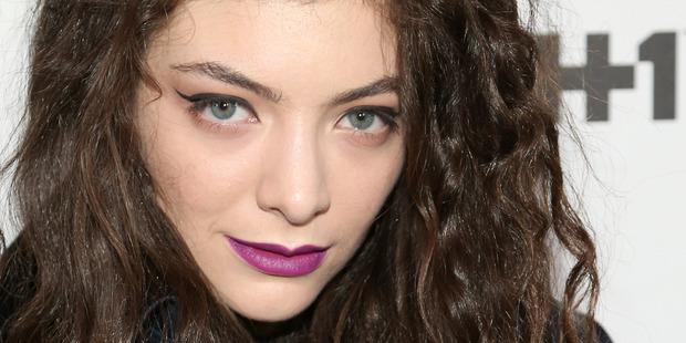 New Zealand singer Lorde. Photo / WireImage
