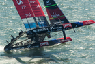 Hopes were never higher than when Team NZ was within a race of claiming the America's Cup. Photo / Gilles Martin-Raget