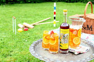 Sipsmith Summer Cup is a heady refresher. Pour, add lime, soda, fruit and feel its firm kick.