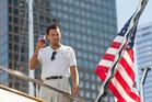 Leonardo DiCaprio as Jordan Belfort in a scene from The Wolf of Wall Street.