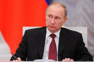 Vladimir Putin. Photo / AP