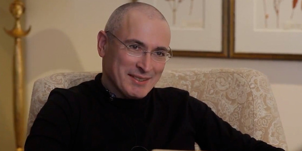 Mikhail Khodorkovsky faced tax evasion charges in 2003. Photo / AP