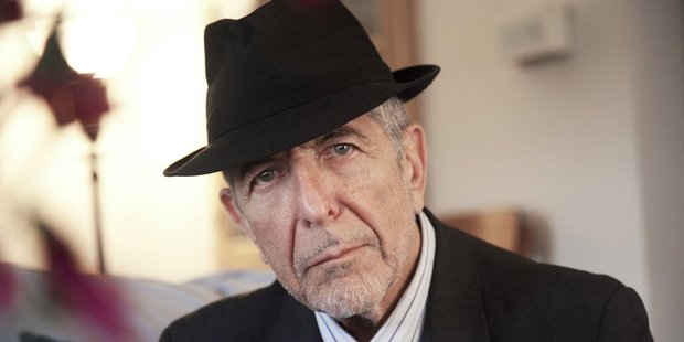 Singer-songwriter Leonard Cohen is impressively agile for a 79-year-old.