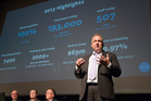 Rod Drury, cheif executive and founder of Xero , has seen his company's stock rise 323 percent this year. Photo/File.