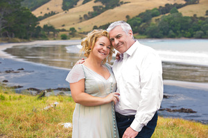 Getting married to Tom was one of Kerre McIvor's resolutions for last year. Photo / NZ Woman's Weekly