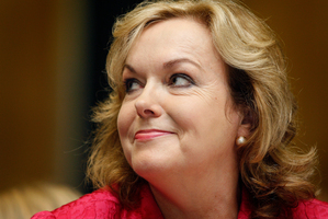 Judith Collins was asked on Twitter if Santa was covered by ACC while in NZ. (She tweeted yes). Photo / File