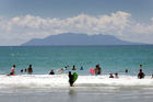 Auckland Council has assessed the quality of more than 180 beaches and freshwater sites in the region ahead of the holiday season and found that only a few are unsafe to swim at. Photo / HOS