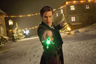 Matt Smith in the Doctor Who Christmas special.