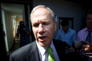 Len Brown was the biggest loser. Photo / Richard Robinson