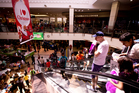 Boxing Day madness as thousands of people do their shopping at St Lukes Mall. Photo / Dean Purcell.