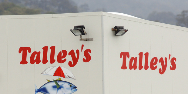 Talley's Fisheries, Greymouth, New Zealand. Photo / NZPA