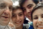 Pope Francis helped create the first papal selfie in August. Photo / AP
