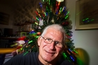 Ken Samson, City Mission volunteer and lover of Christmas.  Photo / Michael Craig