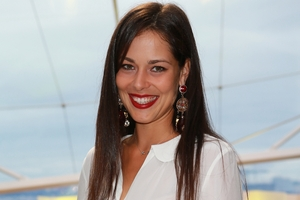 Ana Ivanovic at the official players' party at The Cloud. Photo / Norrie Montgomery