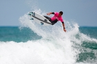 HIGH FLYER: Mount Maunganui surfer Matt Hewitt in action.PHOTO/PHOTOCPL