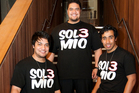 Sol3 Mio - brothers (from left) Amitai and Pene Pati and cousin Moses Mackay -  outshone Lorde.