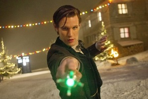 Matt Smith has whipped out his sonic screwdriver for the final time.