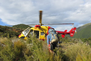 The Nelson Marlborough Rescue Helicopter. Photo supplied