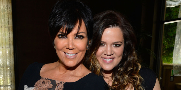 Kris Jenner with daughter Khloe Kardashian. Photo / Getty Images