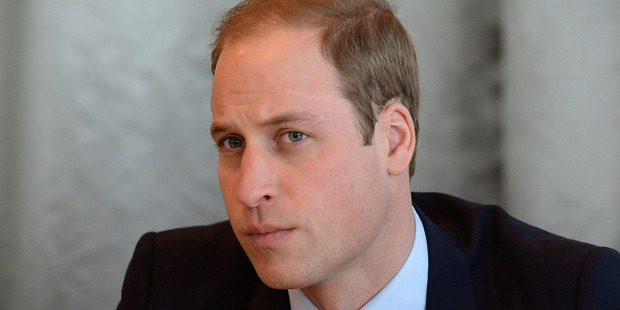 Prince William, Duke of Cambridge at Birmingham Library, England. Photo / Getty Images
