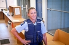 ON DUTY: Senior Sergeant Deirdre Lack is hopeful police will not need to lock many people in the makeshift jail behind the Mount Maunganui police station.PHOTO/ANDREW WARNER 301213AW05BOP