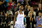 ASB Classic tournament draw card Venus Williams. Photo / Richard Robinson