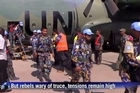 The first UN peacekeeping reinforcements arrive in South Sudan, where the government is said to have agreed a ceasefire after two weeks of fighting with rebels. In Juba, hospitals are filled with casualties but doctors say the situation is improving.