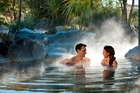 SOAKING: Rotorua geothermal hot pools are renowned for therapeutic qualities. PHOTO/FILE