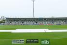 Light rain delayed the start of the second ODI in Napier. Photo /Getty