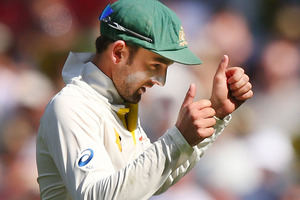 Nathan Lyon. Photo / Getty Images