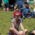 People enjoy the sun during the Waitangi Day celebrations at Bastion Point in Auckland.  Photo / Greg Bowker