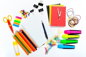 Some stationery substitutes, such as glue sticks, often had problems compared to recommended brands. Photo / Thinkstock